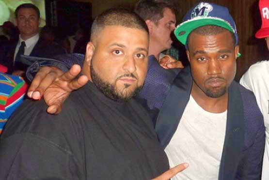 DJ Khaled and Kanye
