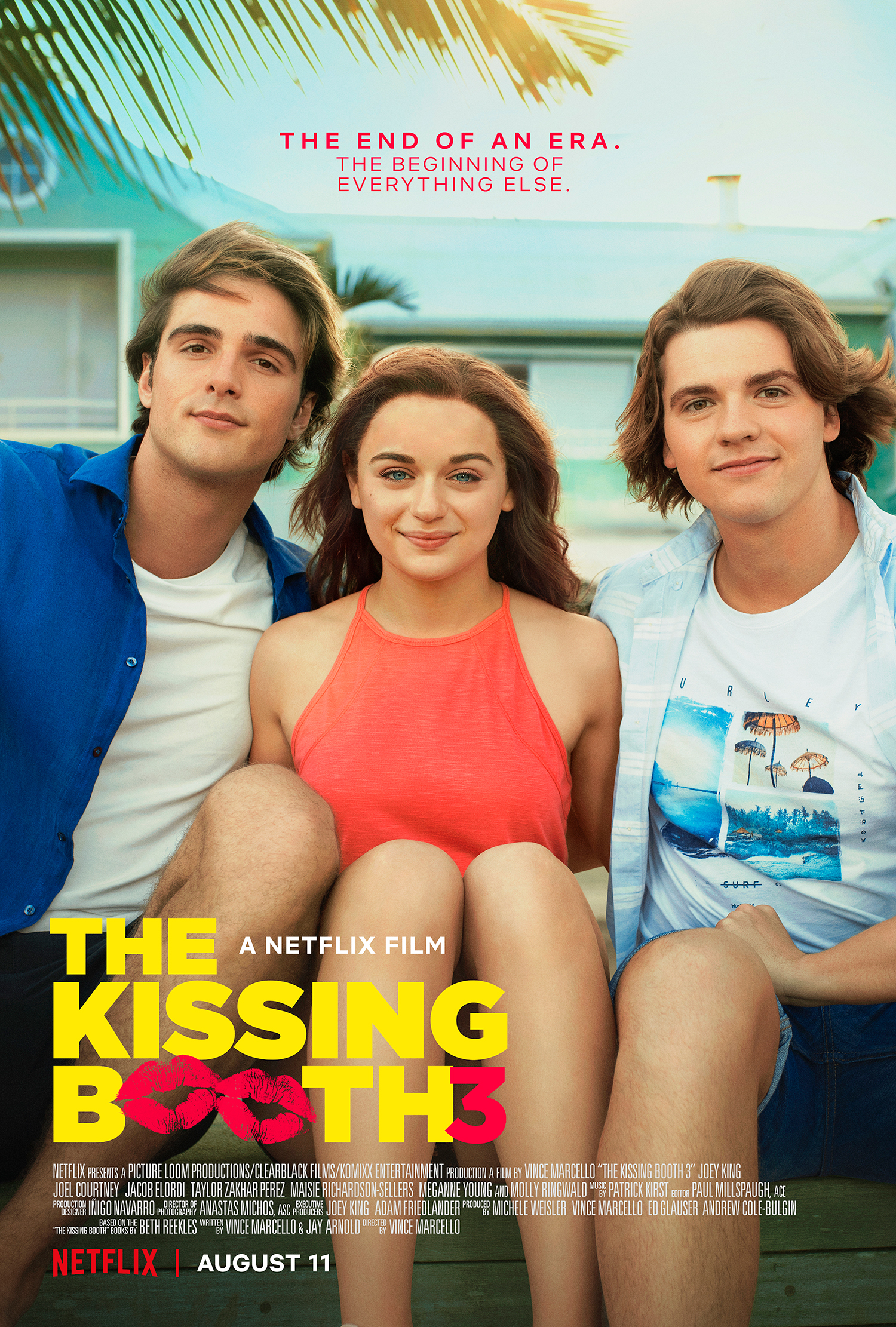When and What to Expect from The Kissing Booth 3