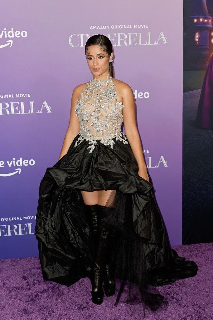 Camila Cabello Dresses Up Like a Modern-Day Princess in Cinderella's Premiere