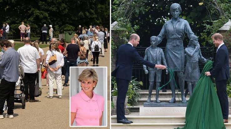 Princess Diana's Memorial Statue to be Opened for Public on Her Death Anniversary